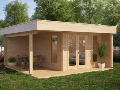 Summerhouse (B) 12 + Veranda