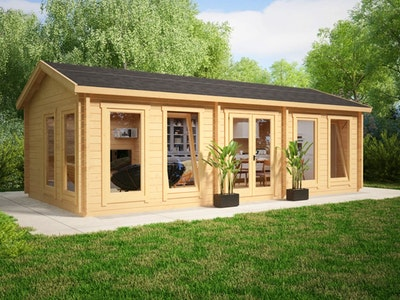 Large Garden Room 30 Gable