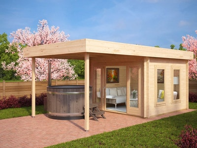 Studio Cabin 10 Mono + Canopy