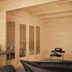 L Shape Corner Studio 18 Gable + Veranda