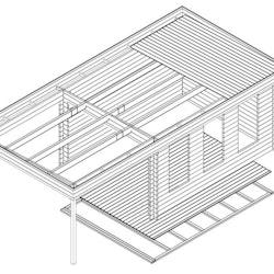 Studio Cabin 12 Mono + Canopy