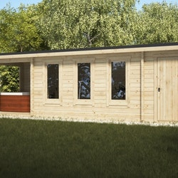 Super Studio Cabin 12 Gable + Shed