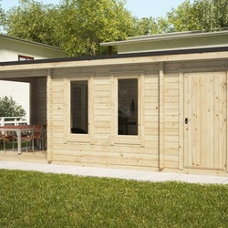 Super Studio Cabin 10 Gable + Shed