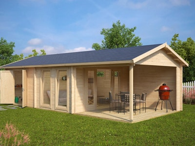 King Studio Cabin 22 Gable + Veranda